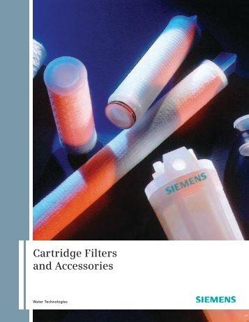 Cartridge Filter Brochure - Siemens