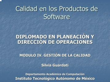 Calidad de Software - ITAM