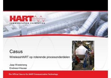 download presentatie Jaap Westeneng, Endress+Hauser