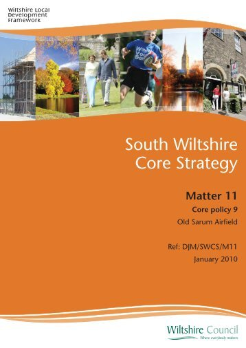 Matter 11 Core policy 9 - Wiltshire Council