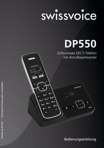 Schnurloses DECT-Telefon mit Anrufbeantworter ...