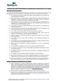 INFORMACIÓN SOBRE TRANSPARENCIA DE ... - Cajastur