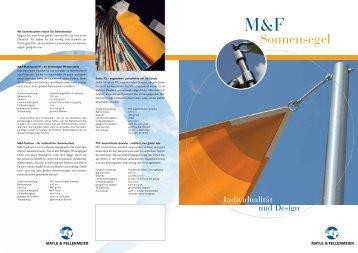 Download M&F Sonnensegel Prospekt - Mayle & Fellermeier