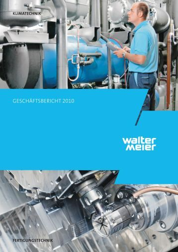 Geschäftsbericht 2010 - Walter Meier