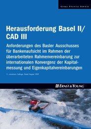 Herausforderung Basel II/CAD III - Schweiz