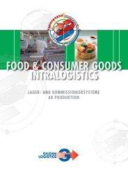 Food & Consumer Goods, Lager - Gilgen Logistics AG