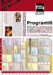 Monat 07-2009.indd - Tilsiter Lichtspiele