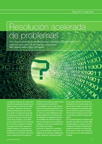 Resolución acelerada de problemas