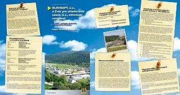 Hronský Beňadik (pdf, 2 MB) - Slovnaft