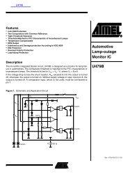 Automotive Lamp-outage Monitor IC U479B