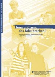 Jung und arm: das Tabu brechen! (Bericht) - SKOS