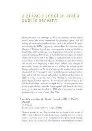 a private scholar and a public servant - Cambridge University Library