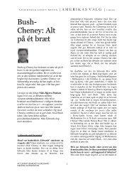 denne uges interview med Niels Bjerre-Poulsen - Ræson