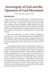 Doctrines of God & Christ: Introduction - Footstool Publications
