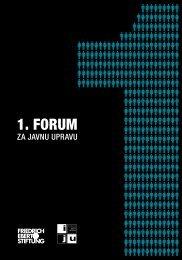 Publikacija 1. FORUM ZA JAVNU UPRAVU - Friedrich-Ebert-Stiftung ...
