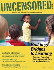 Building Bridges to Learning - The Institute for Children, Poverty ...