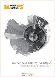 QS World University Rankings® - International Observatory on ...