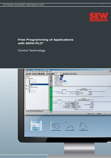 Free Programming of Applications with MOVI-PLC ... - SEW-Eurodrive