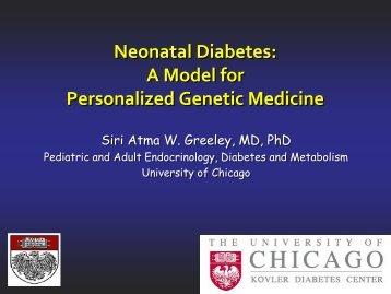 diabetes neonatal: