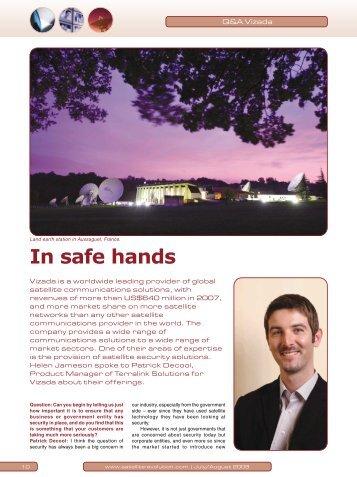 In safe hands - Satellite Evolution Group