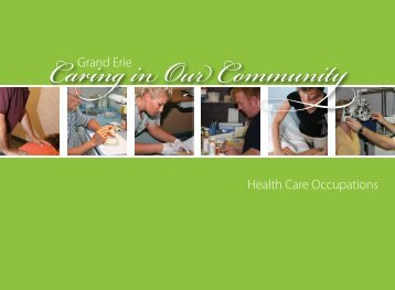 Caring in Our Community - Workforce Planning Board of Grand Erie