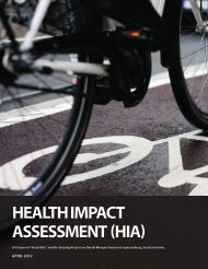 """(HIA) of Proposed """"Road Diet"""" - Health Impact Project"""