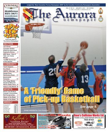 Jan 4 2010 - The Aurora Newspaper
