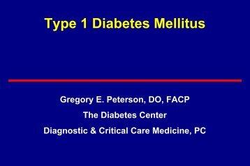 Type 1 Diabetes Mellitus - K-12 Connections