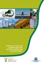 Feasibility Study for a Carbon Neutral 2010 FIFA - Norway