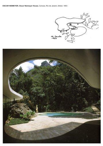 OSCAR NIEMEYER, Oscar Niemeyer House, Canoas, Rio de ...