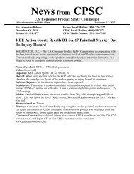 KEE Action Sports Recalls BT SA-17 Paintball Marker Due