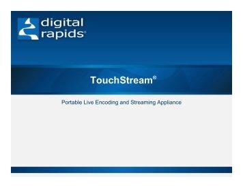 TouchStream® - Incospec Communications Inc.