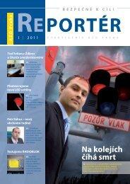 Reportér 2011/1 - AŽD Praha, sro