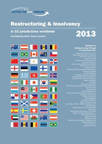 Restructuring & Insolvency - Logos.is