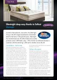 Silentnight sleep easy thanks to Softcat