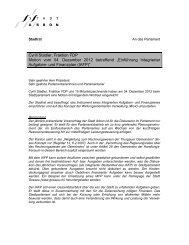 Cyrill Stadler, Fraktion FDP Motion vom 04. Dezember ... - Stadt Arbon