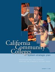 education and the economy: shaping california's future today - ASCCC