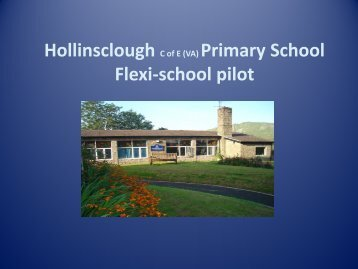 Hollinsclough Flexi-school presentation - Hollinsclough Primary ...