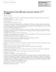 Measurement of the diffractive structure function ... - PNPI Home Page