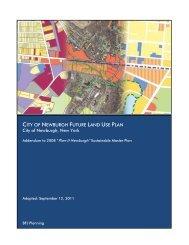 Future Land Use Plan - City of Newburgh, New York