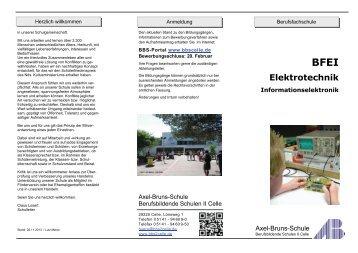 Elektrotechnik -Informationselektronik - BBS-Portal