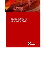 Newlands System Information Pack - QR National