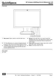 HP Compaq LA2405wg 24-inch Widescreen LCD Monitor