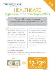 HEALTHCARE - ThedaCare