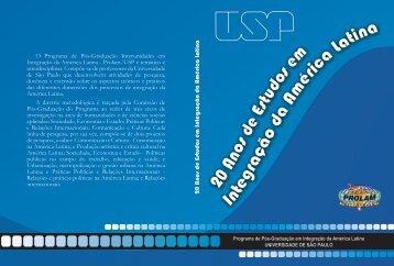 Livro Institucional Prolam/USP 2010