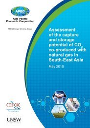 Assessment of the capture and storage potential of CO2 co ...