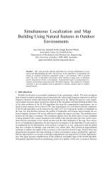 Simultaneous Localization and Map Building Using Natural ... - ISL