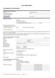Aanvraagformulier Doorlopende reisverzekering - SLIMcms