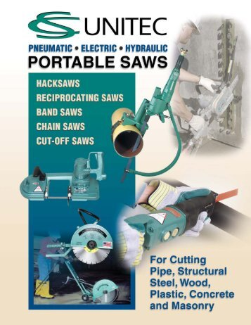 Portable Saws & Accessories - CS Unitec