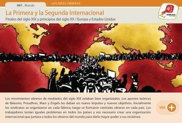 La Primera y la Segunda Internacional - Manosanta